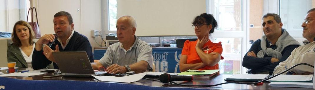 Assemblée générale 2017 de la JA Isle Handball (cliquez pour voir les photos)