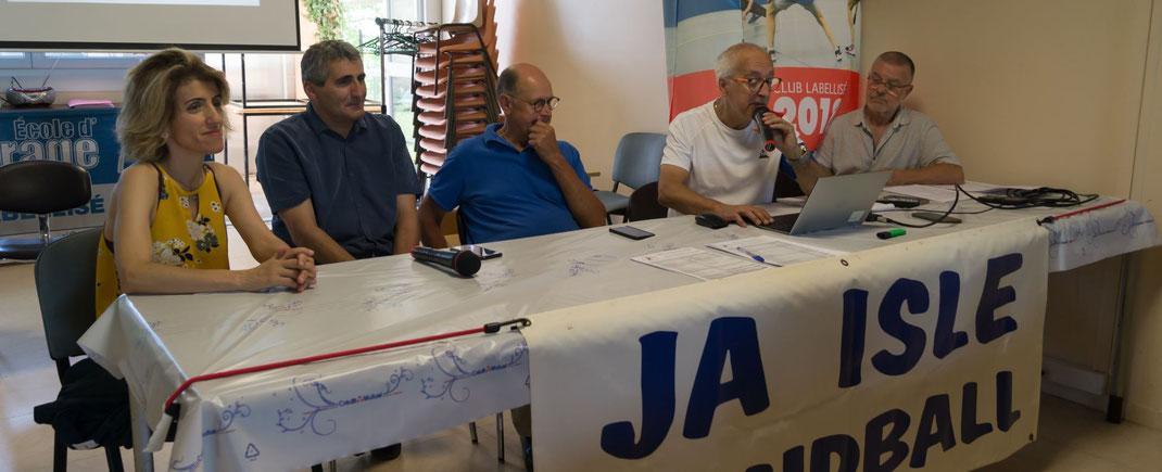 Assemblée Générale JA Isle Handball 2019