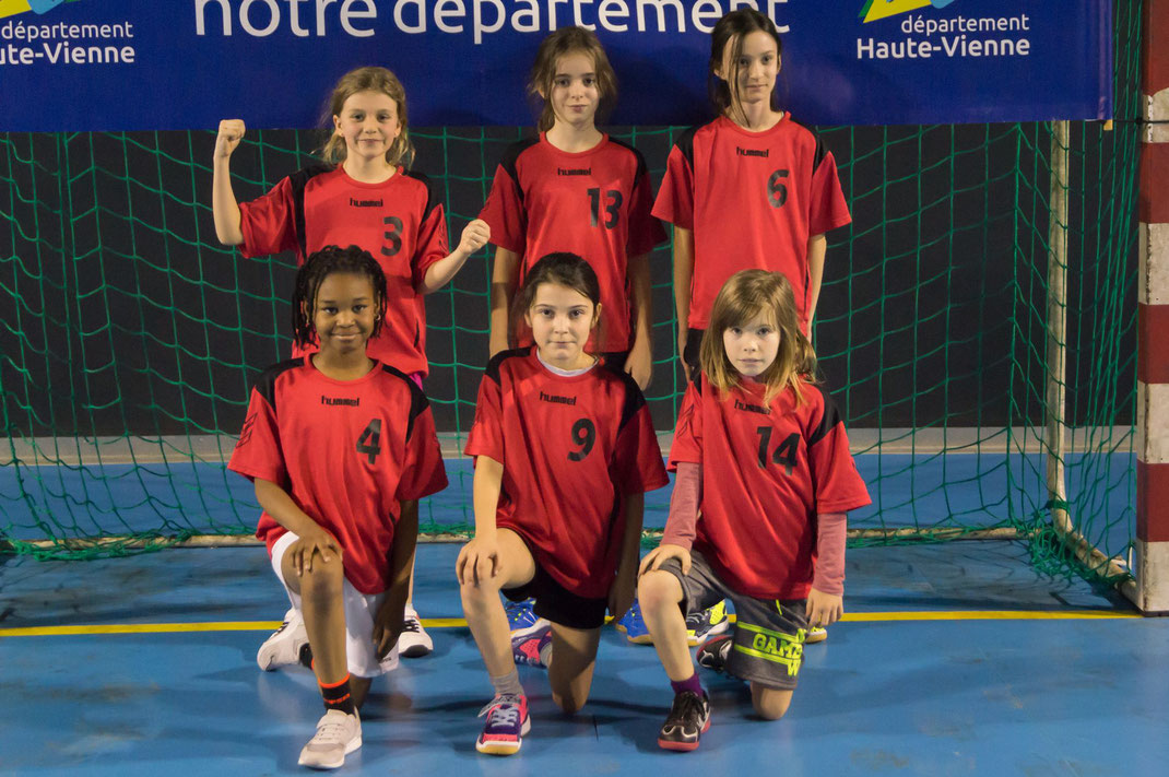 La photo officielle de l'équipe de la JA Isle Handball