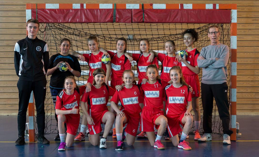 Equipe des -13 ans filles