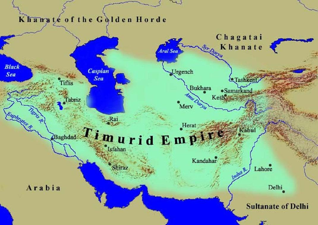 #Timurid Empire