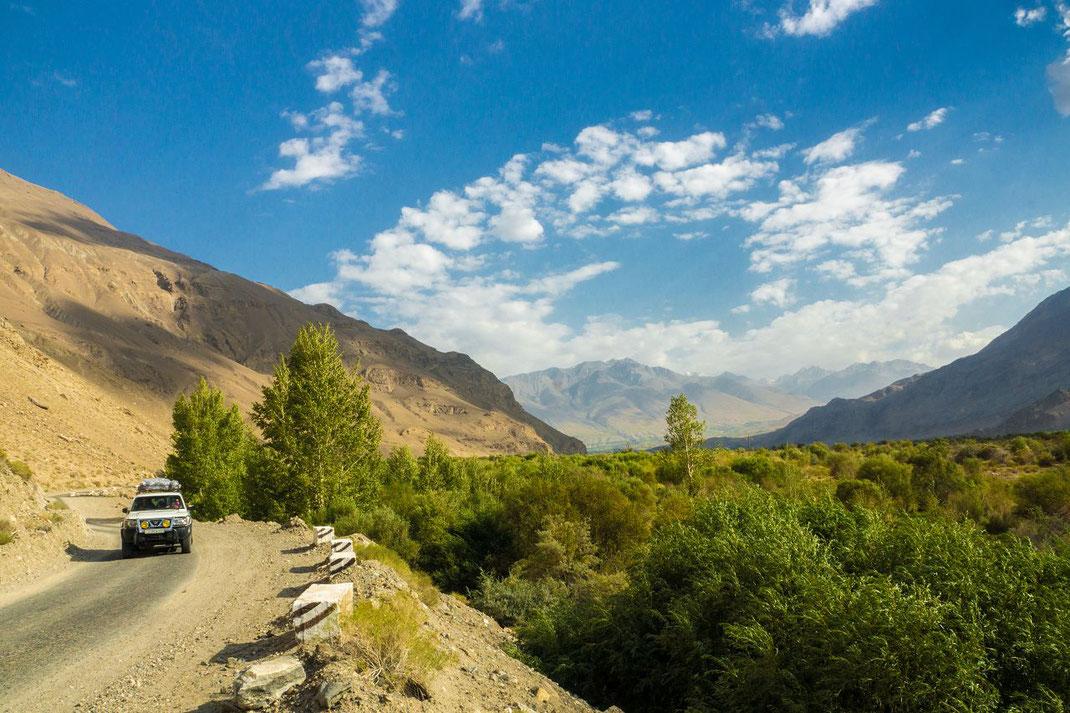 Tajikistan, from Kalaikum to Chorugh