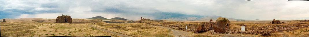 Ani - former Armenian Capital - Landscape