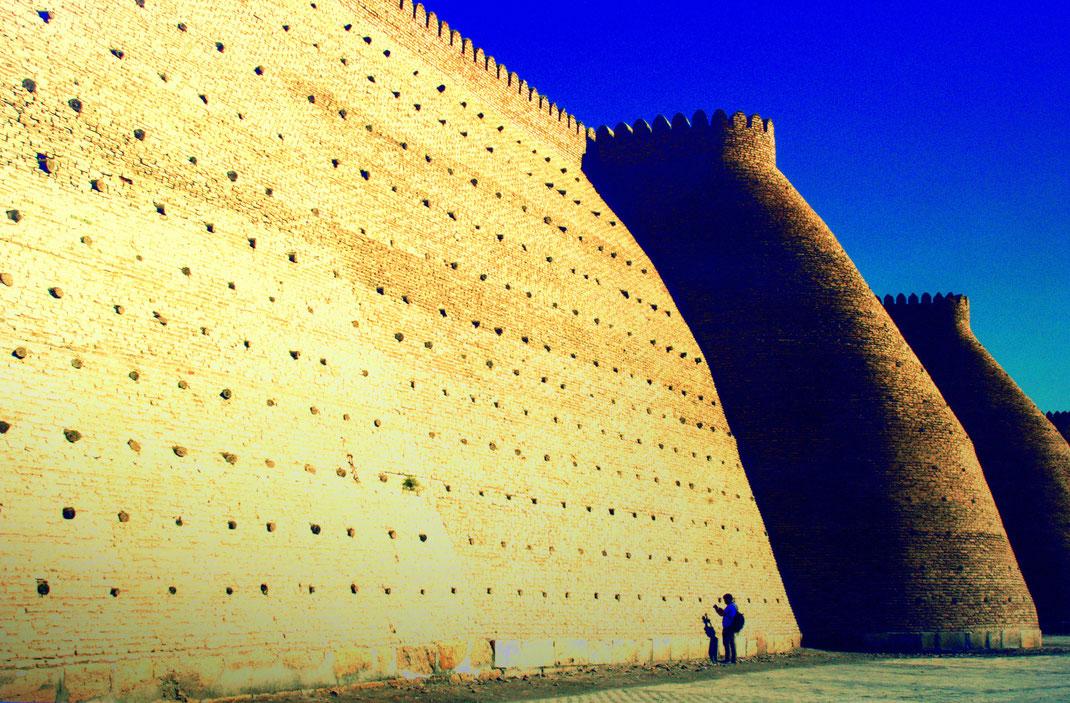 #Bukhara  #The Ark citadel  #massive fortress