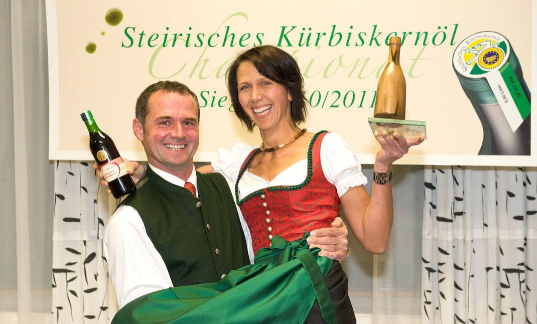 Sieger beim Steirischen Kürbiskernöl Championat 2010/11