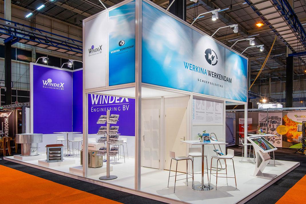 WindeX en Werkina Werkendam op Maritime Industry 2019