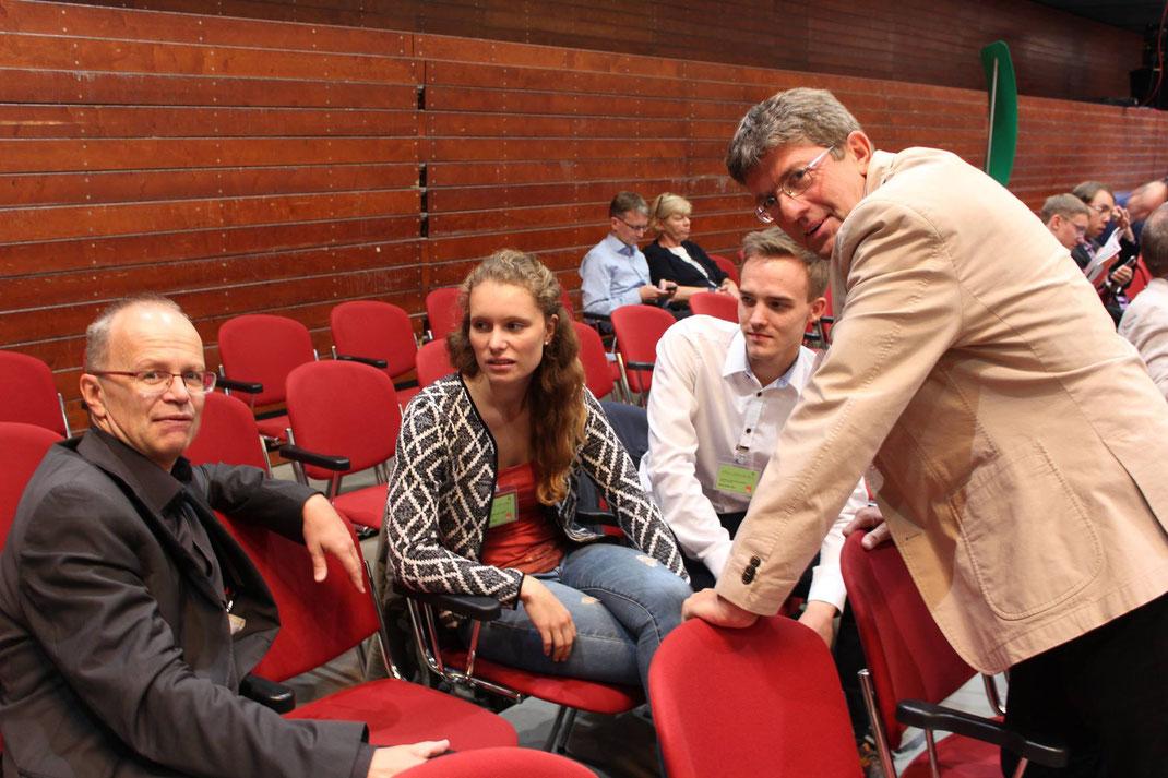 Am Rande des Parteitags haben Frank Sundermann, MdL und Thomas Marquardt, MdL uns ganz viel erklärt