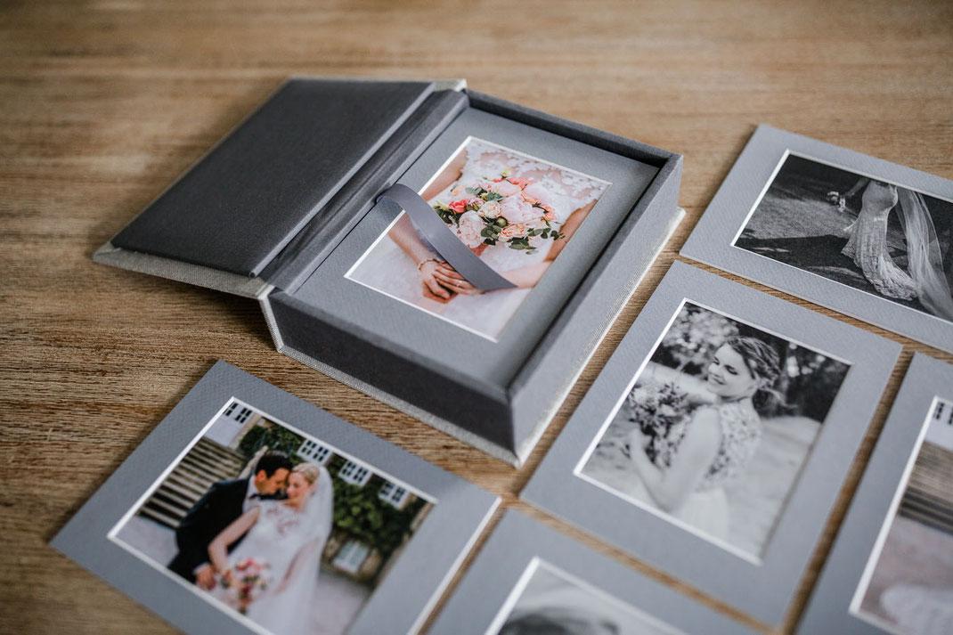 Passepartout Box Hochzeitsfotografin Recklinghausen