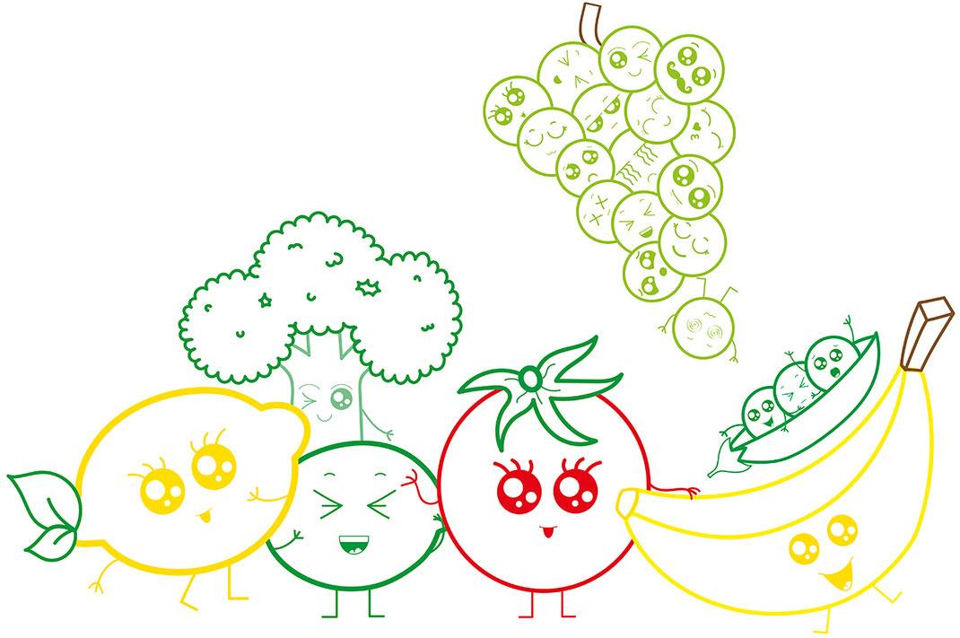 Essen für Kids - Übersicht