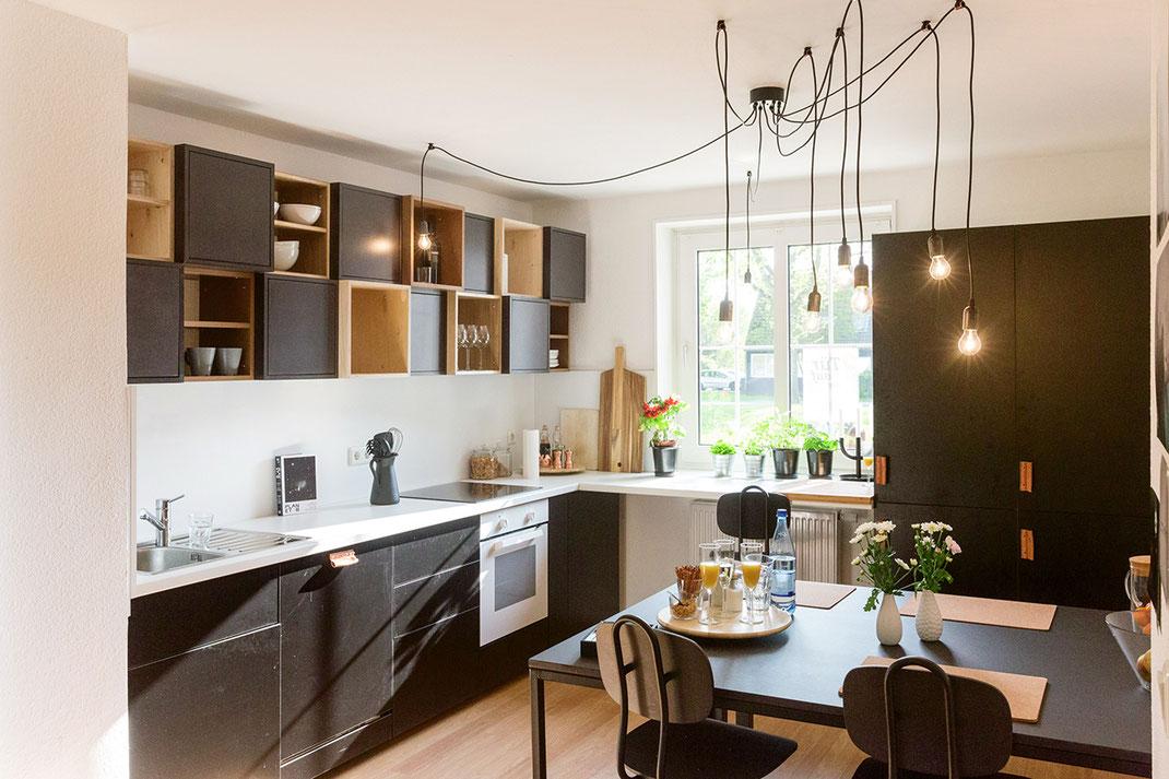 Halfmannshof - Einbauküche mit Essplatz