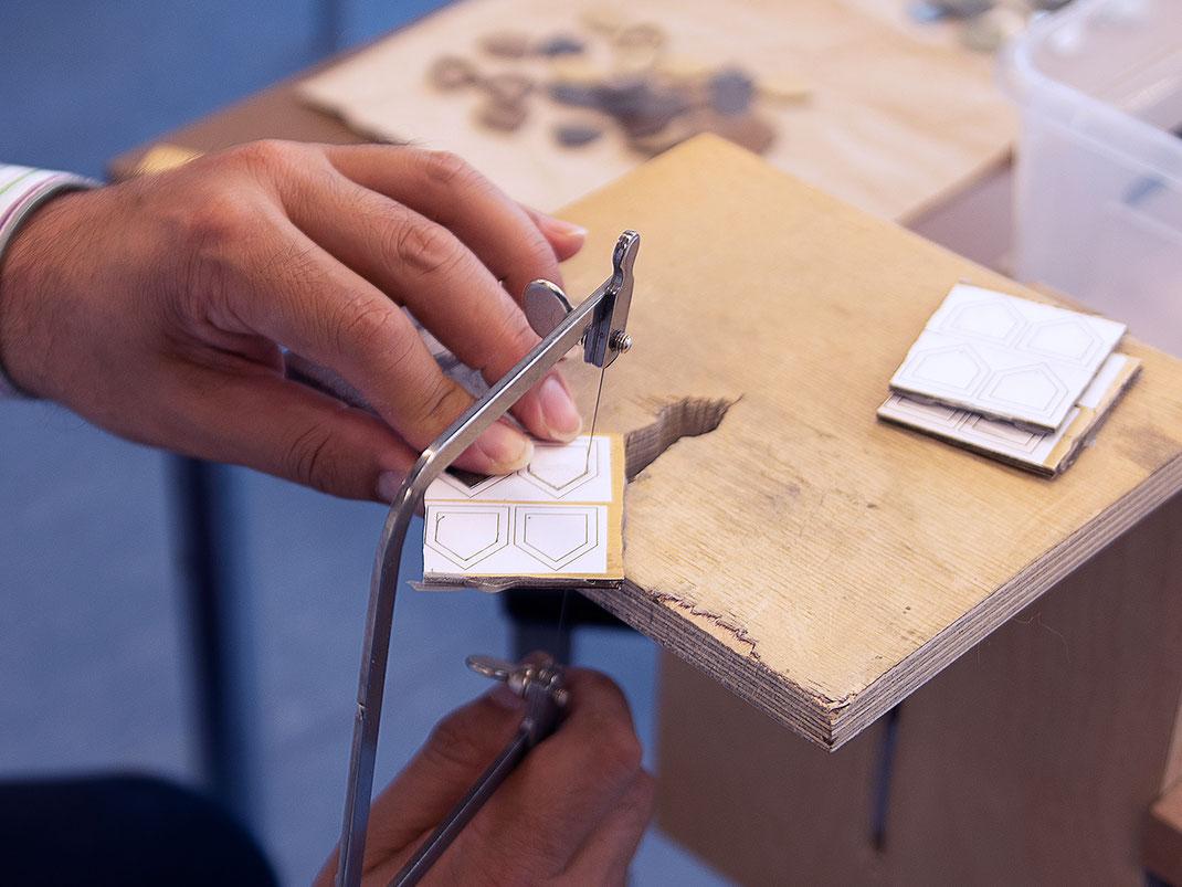 Stauder - Kiste für Kiste ein Unikat. Bis jetzt wurden 200 Exemplare von KRONENKREUZ gefertigt.