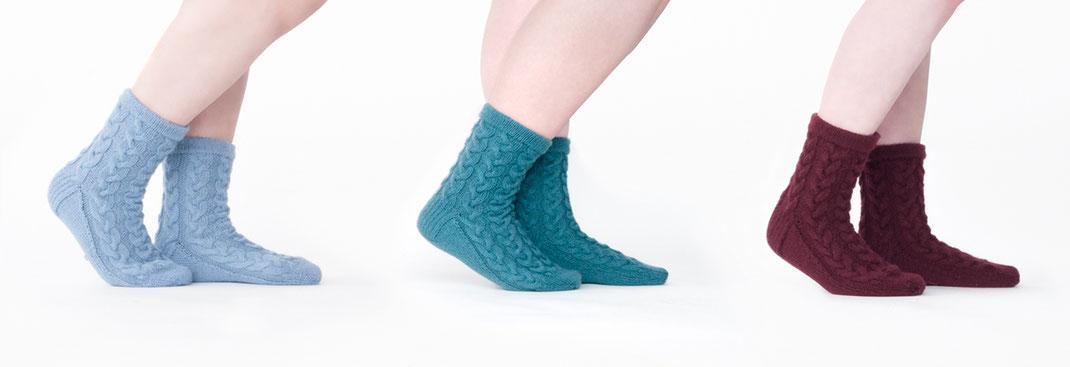 Sock 'n' Woll - 75 % Schurwolle - 25 % Polyamid