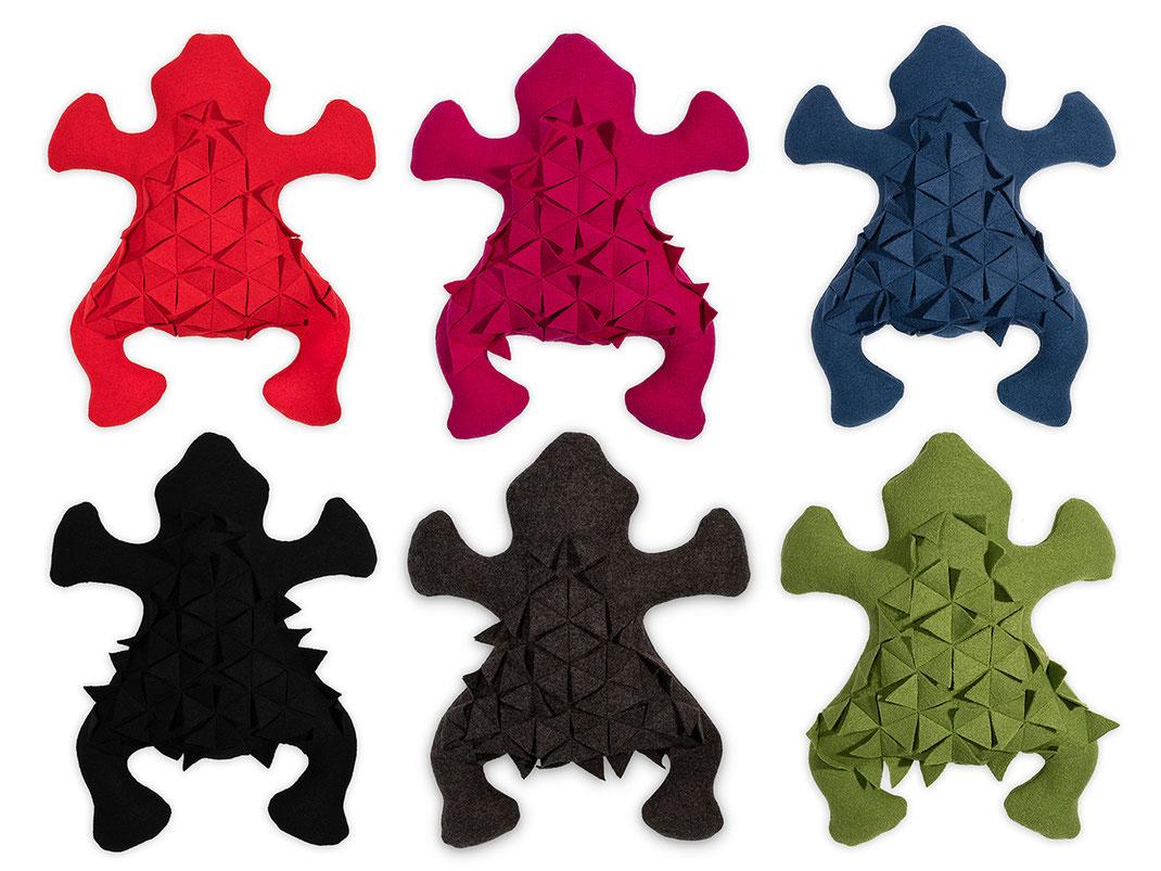 Mr Frog die Farben