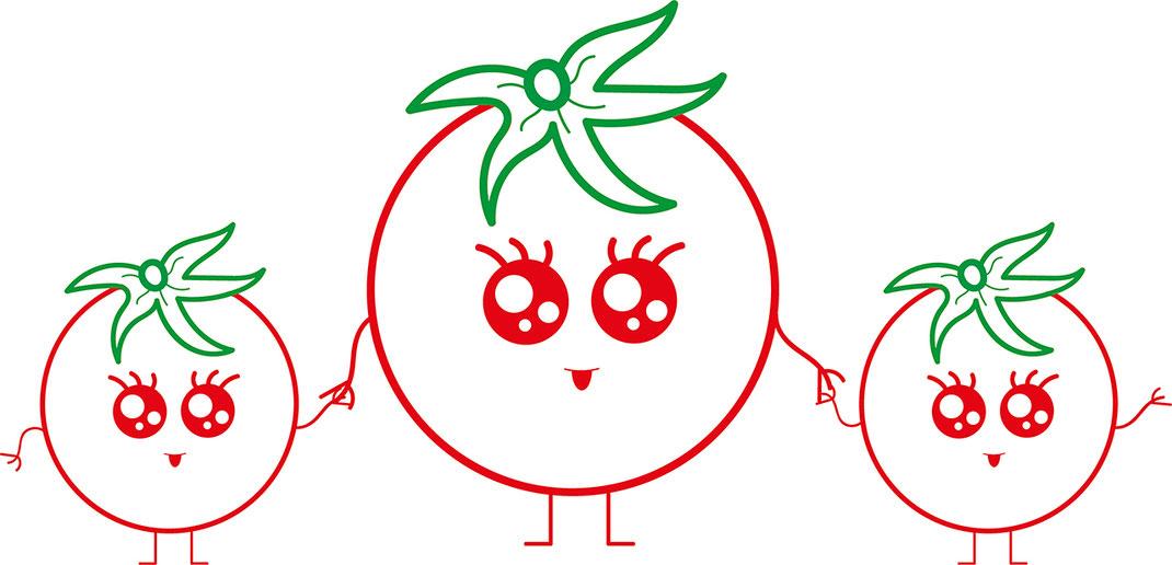 Essen für Kids - Tomaten