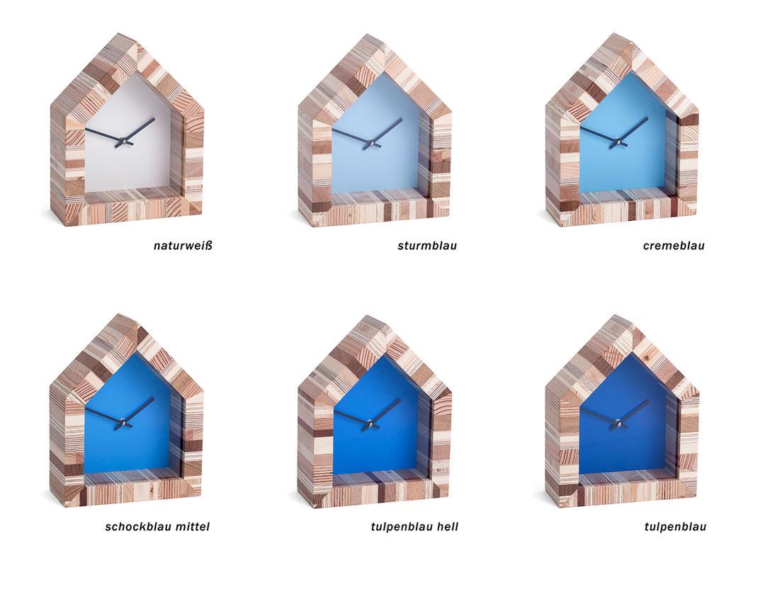 Albert - Wand- und Standuhr aus Other Side - Farben