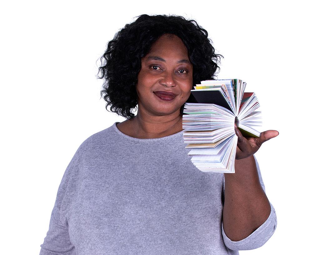 Papierlapapp mit Model