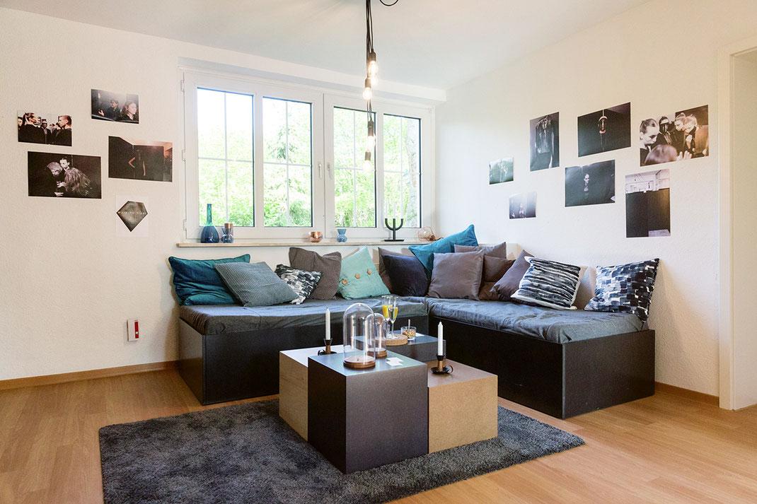 Halfmannshof - Sitzecke mit Tisch