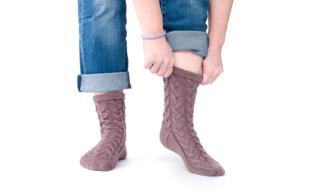 Sock 'n' Woll - handgestrickt