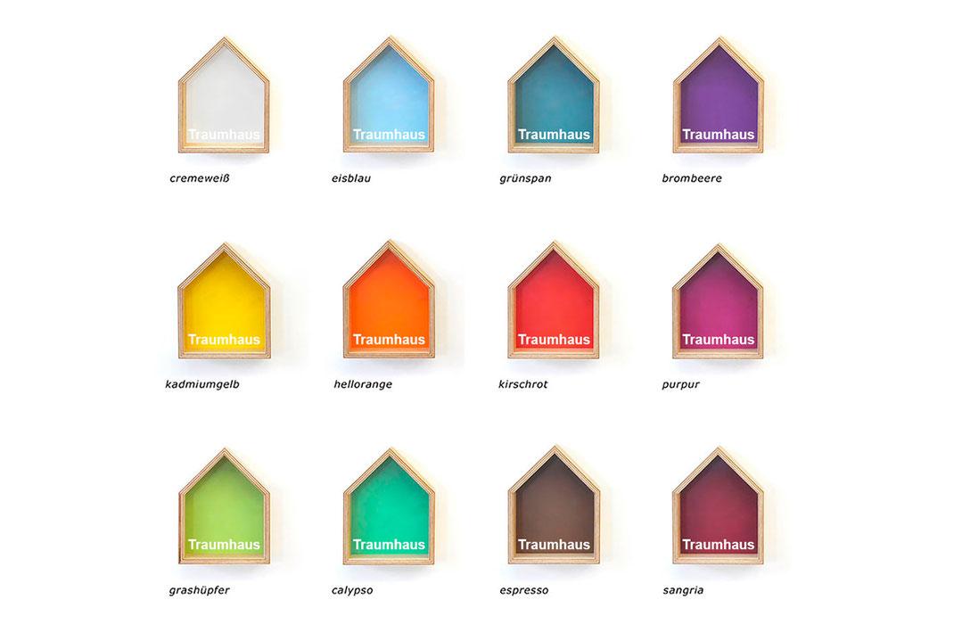 Traumhaus Farbvarianten
