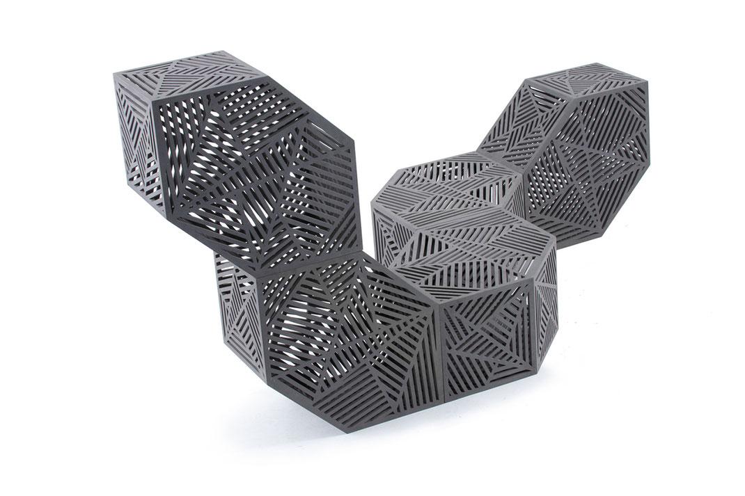 Hexagon als kreative Struktur