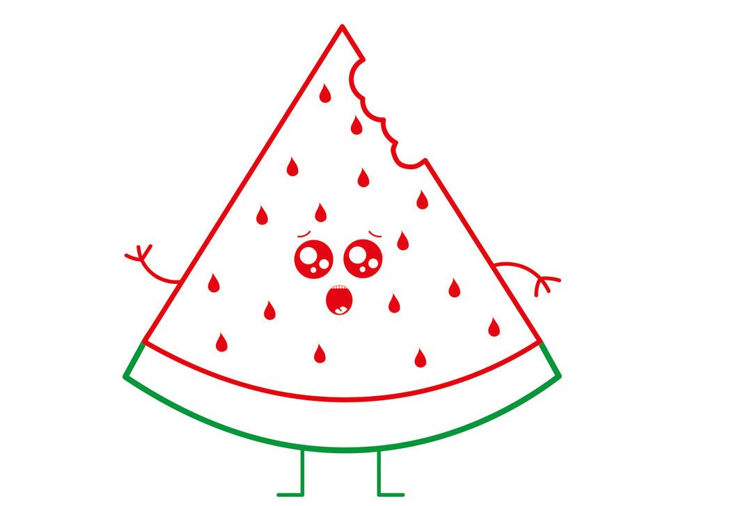 Essen für Kids - Melonen
