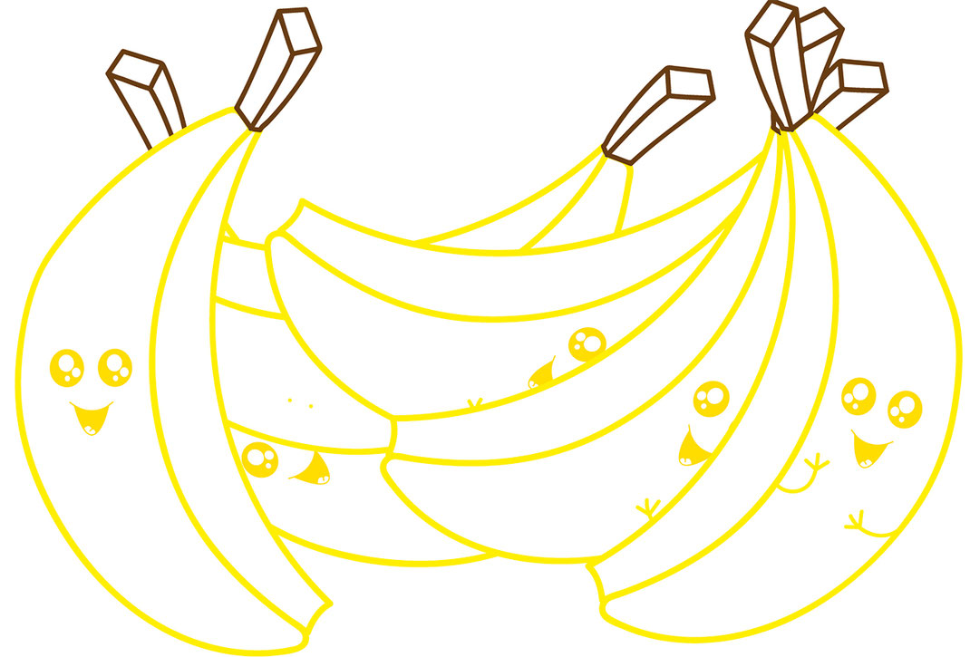 Essen für Kids - Bananen