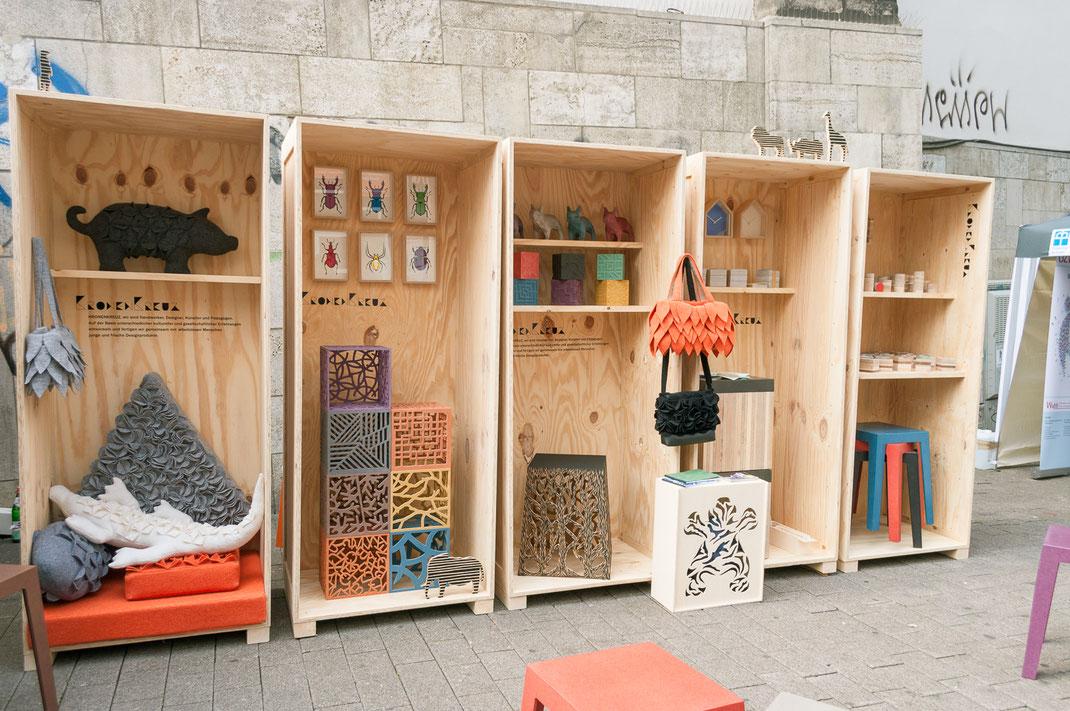 Kunst und Design auf dem Marktkirchenfest