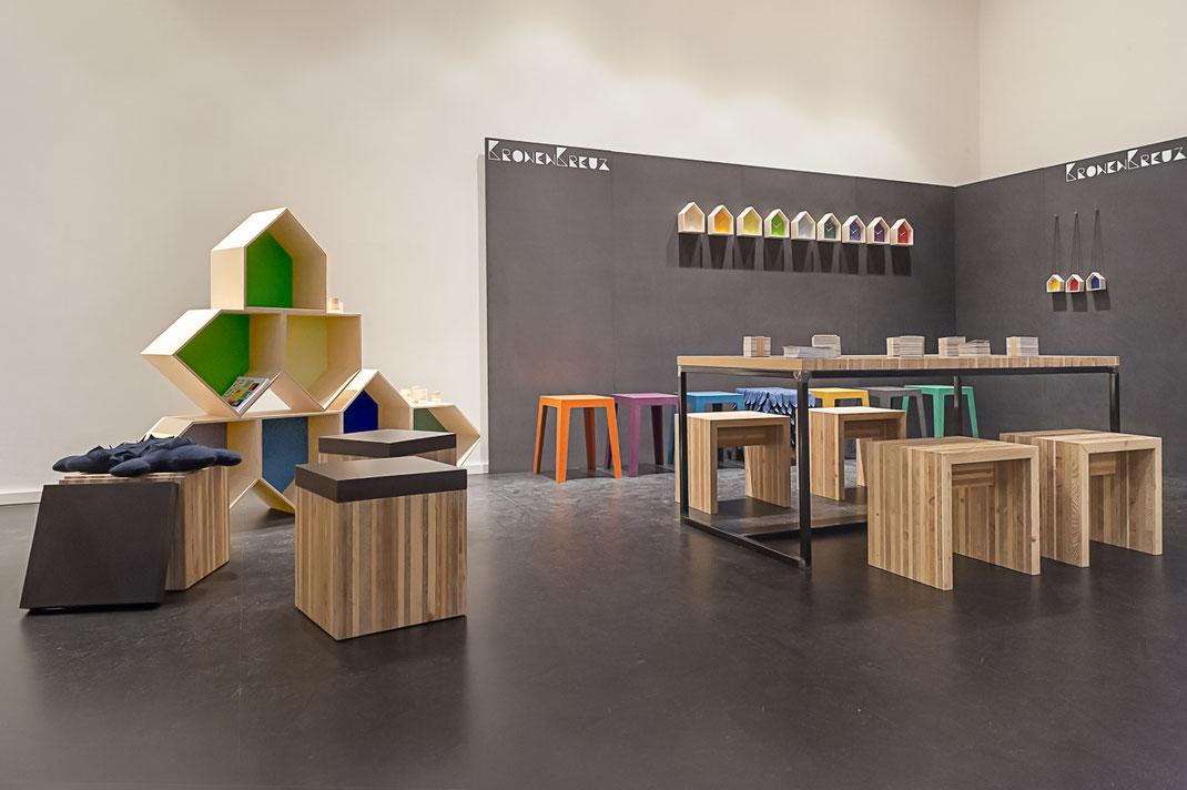 Ausstellung von Kronenkreuz auf der Designers Fair in Köln