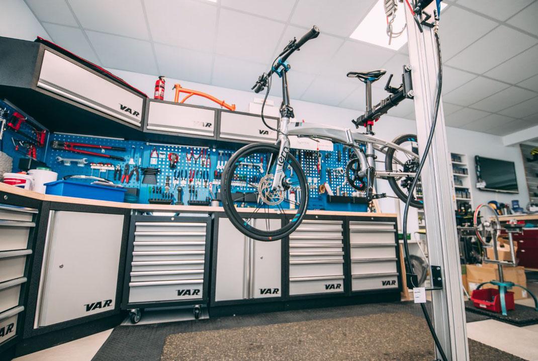 Klapprad Ulm - Walfischgasse 16 - Service am Bike - Zweiradwerkstatt Ulm