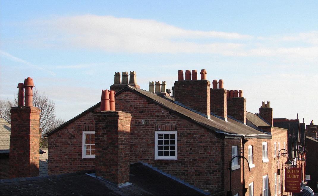 Traditionelle Kaminaufsätze und Schornsteinverlängerungen in Chester