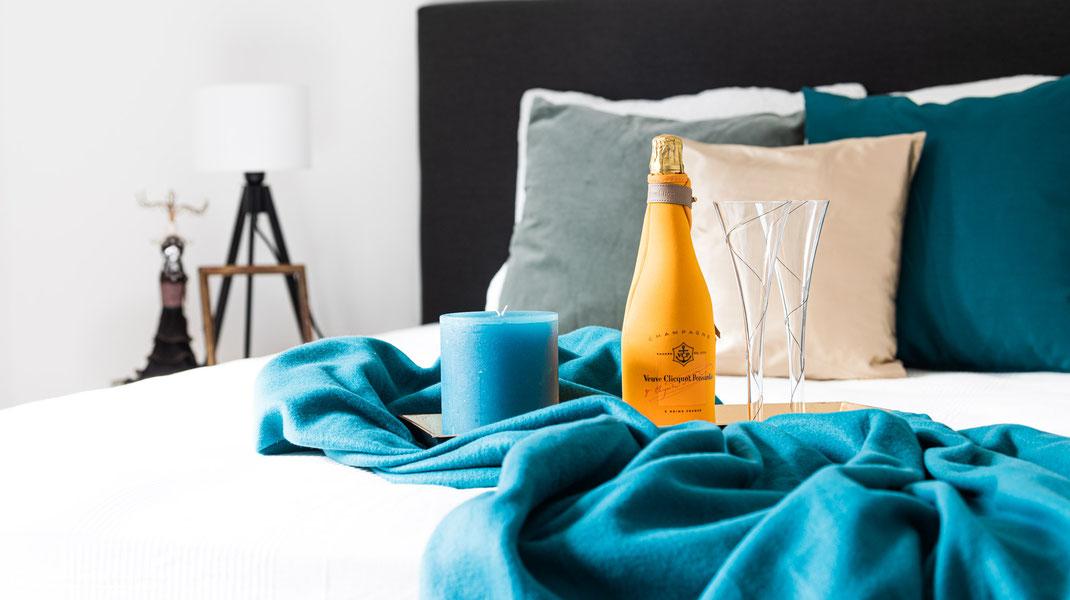 Professionelle Immobilienfotografie und unmöglicherte leeere Wohnobjekte, Homestaging wertet eine Immobilie auf .