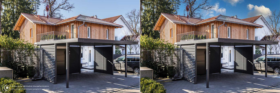Tipp: Den Himmel in der Immobilienfotografie ersetzen.