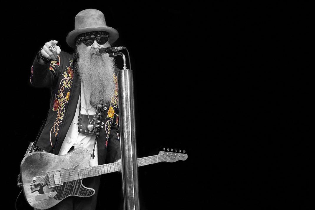 Billy Gibbons of ZZ Top (Foto: Christian Düringer)