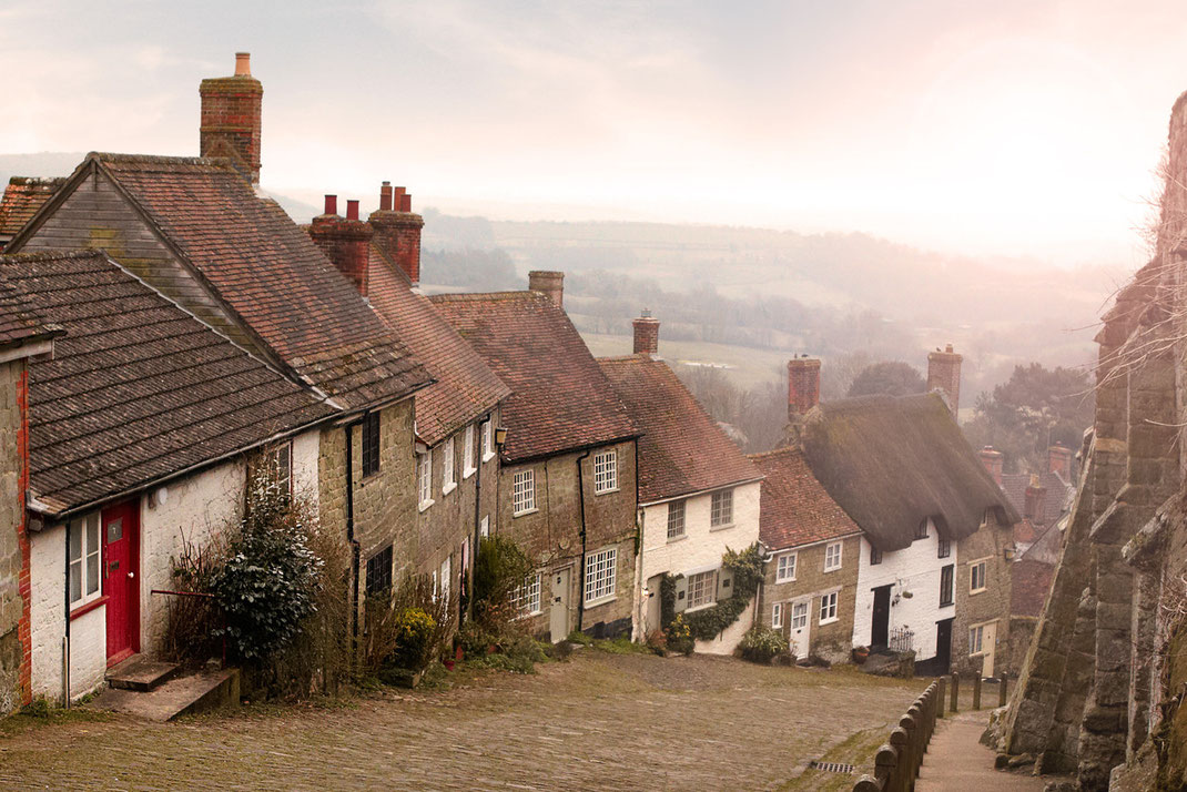 Gold Hill, Shaftesbury, England (Foto: Christian Dueringer)