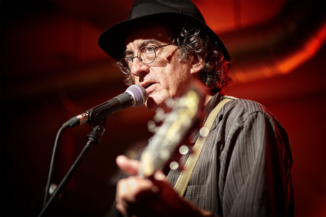 James McMurtry bei Frankfurt am Main (Foto: Christian Düringer)