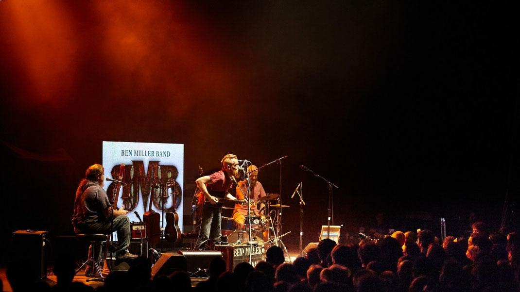 Die Ben Miller Band live in Saarbrücken 2014 (Foto: Christian Düringer)