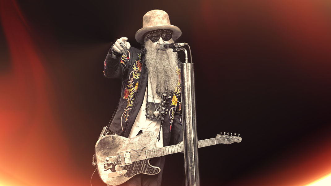 Billy Gibbbons/ZZ Top  (© Christian Düringer)