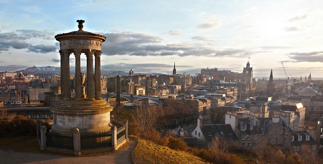 Carlton Hill: Edinburgh, Schottland (Foto: Christian Dueringer)