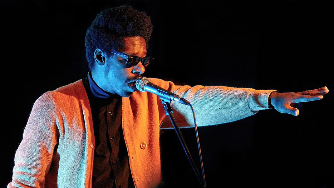 Curtis Harding in Frankfurt am Main (Foto: Christian Dueringer)