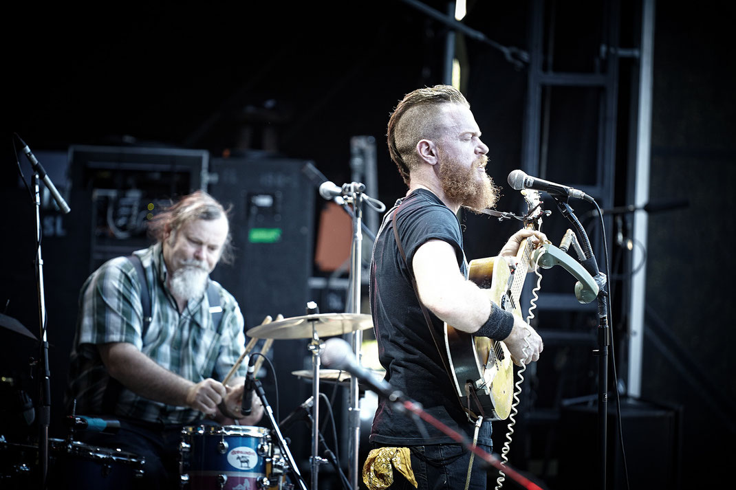 Ben Miller Band am 2. Juli 2015 in Berlin/Zitadelle (Foto: Christian Düringer)