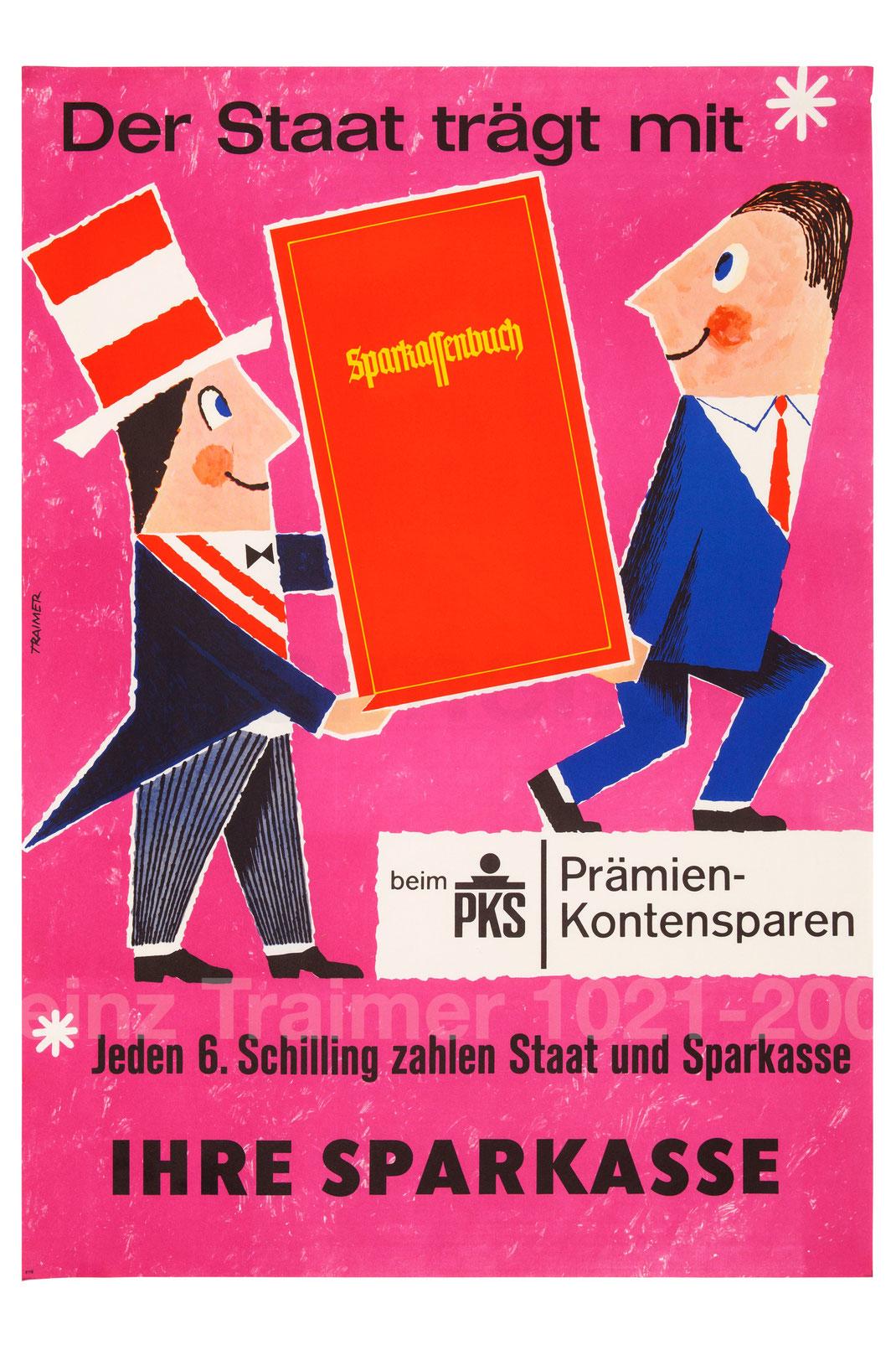 Praemienkontensparen Sparkasse und Republik Oesterreich Staat