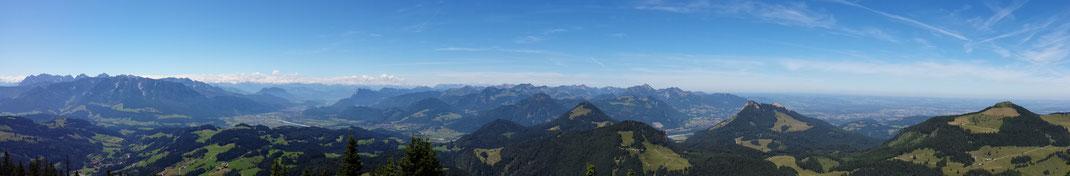 Panorama Spitzstein