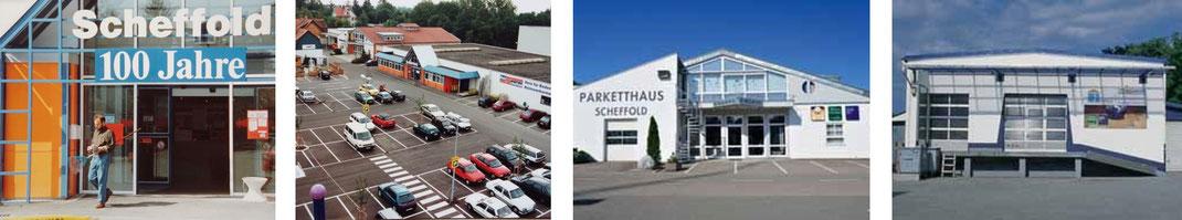 Parketthaus Scheffold Historie 1995-2018