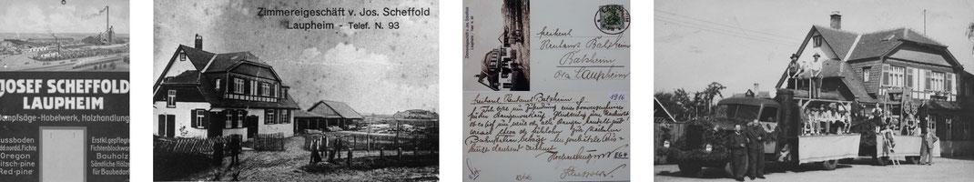 Parketthaus Scheffold Historie 1892