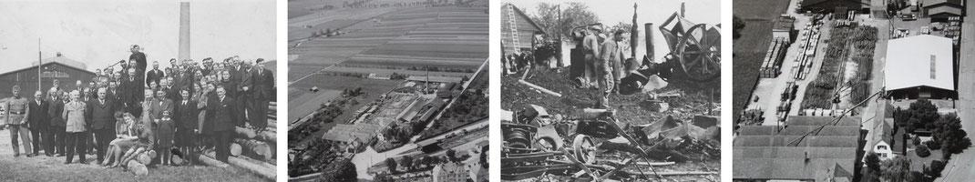 Parketthaus Scheffold Historie 1917-1950
