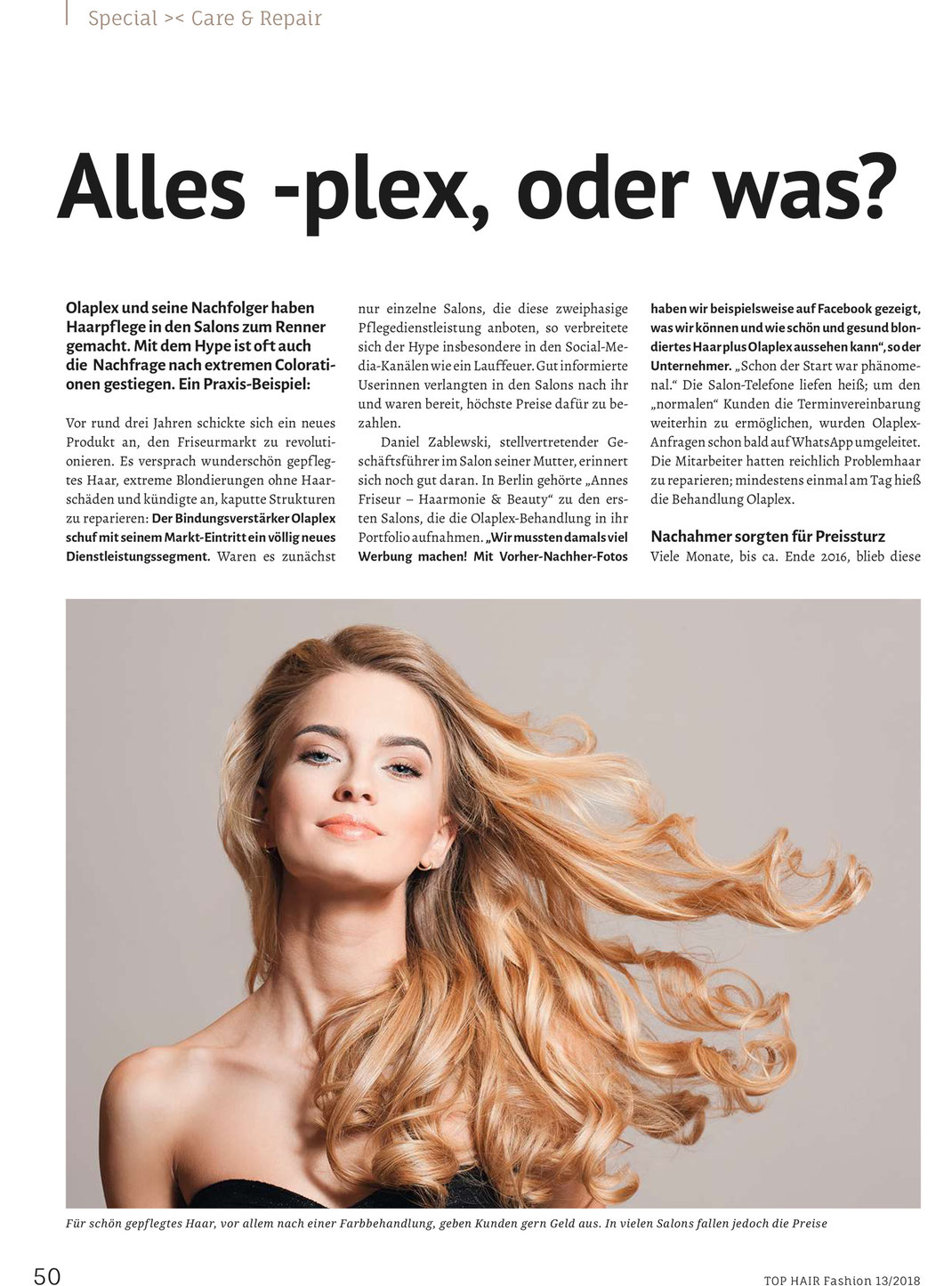 Top Hair Fashion Ausgabe 132018 Annes Haarmonie Beauty