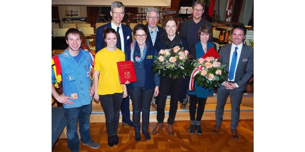 Am 1. Dezember 2017 überreichte die Stadt Frauenfeld dem Cevi Frauenfeld den Anerkennungspreis.