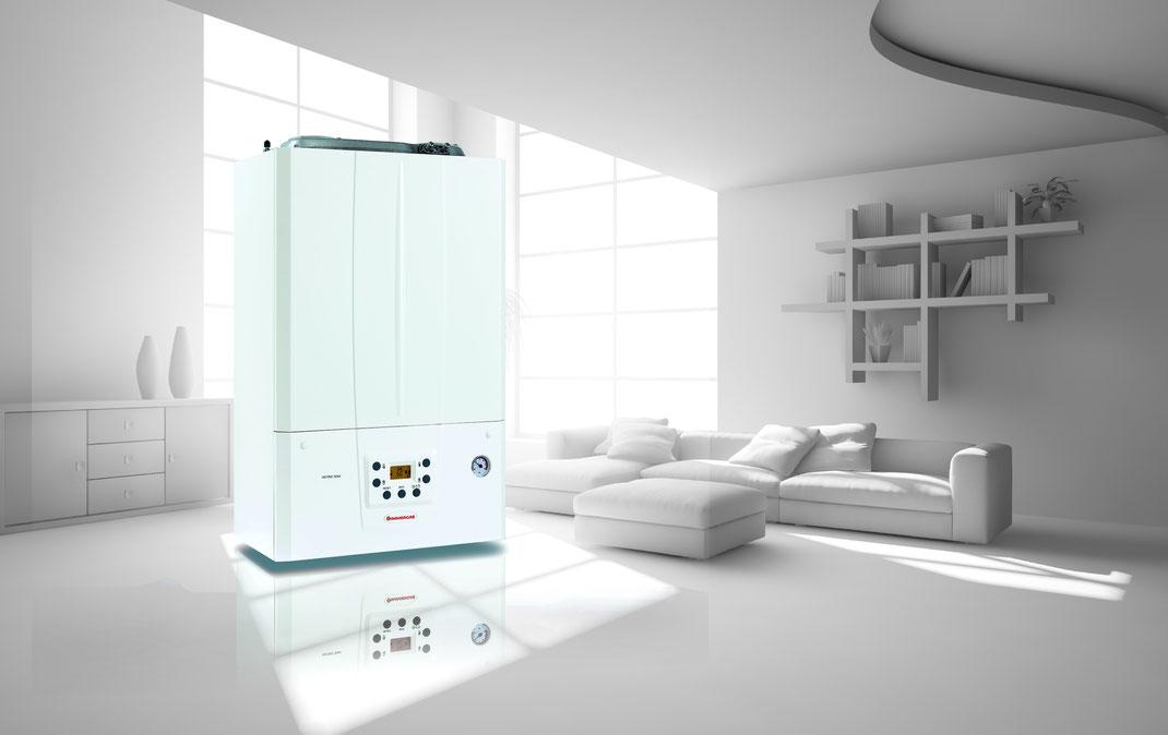 Offerta preventivo Caldaia  a condensazione immergas victrix tera 24 kw in promozione a Torino installazione inclusa