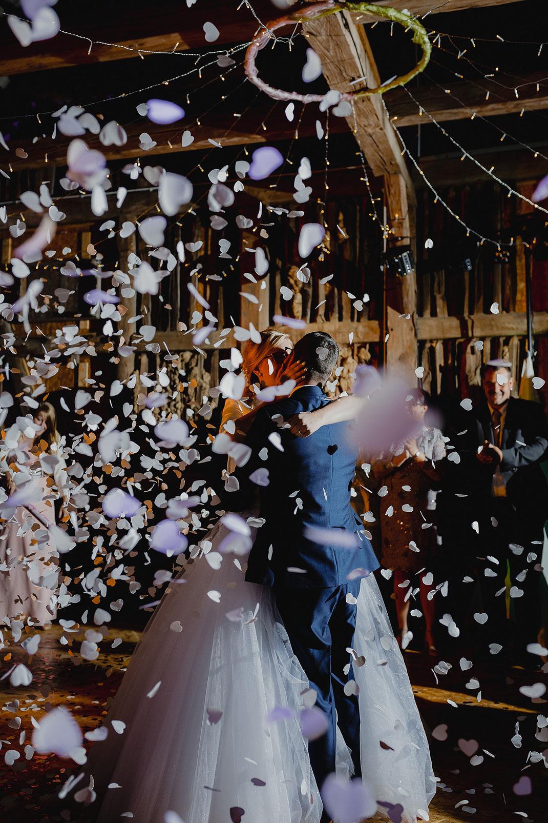 Hochzeitsfeier in der Feldscheune Schöbendorf