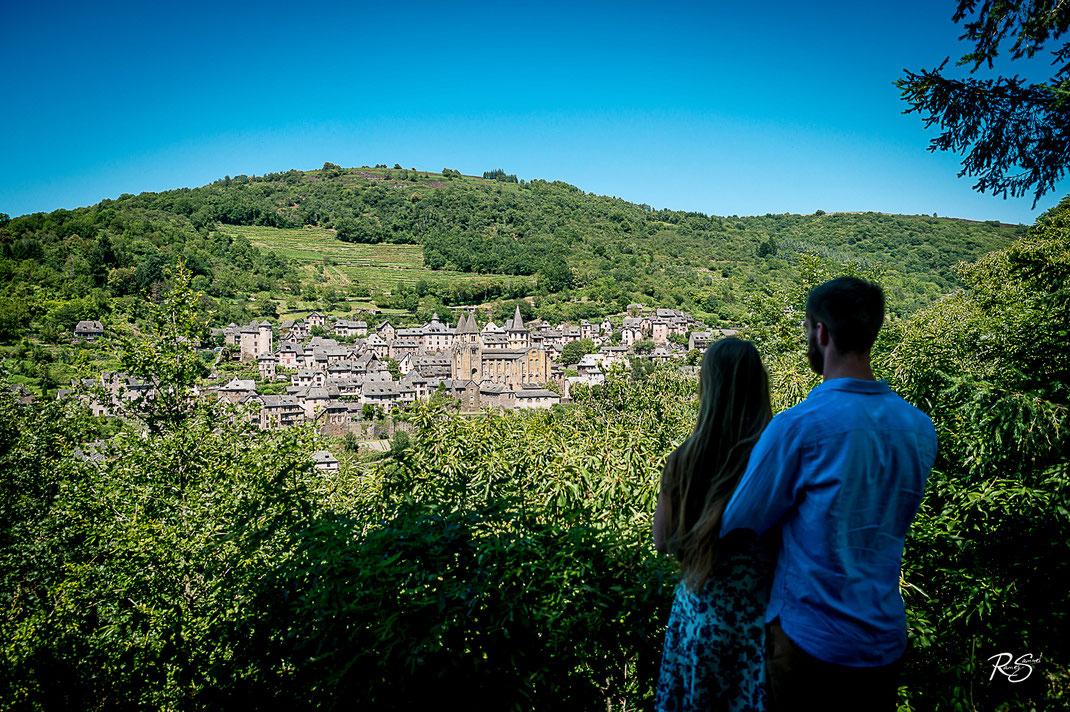 Panorama du Village de Conques en Aveyron (12)